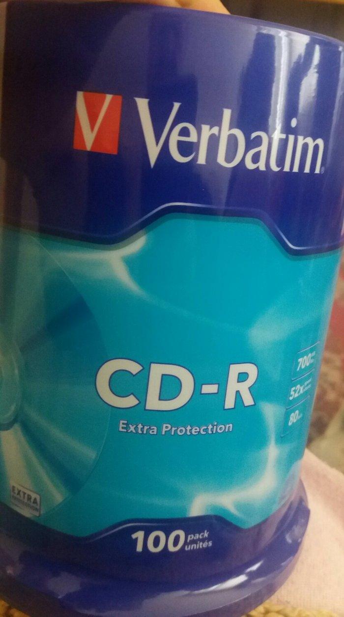 Verbatim cd 100 komada u orginal pakovanju. - Beograd