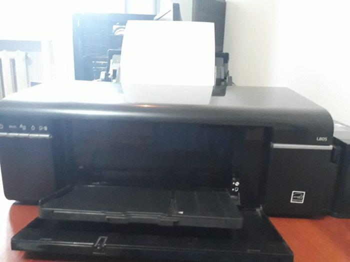 Струйный принтер Epson L805. 10000сом. 37стр/мин ч/б, 38стр/мин цв А4 в Бишкек