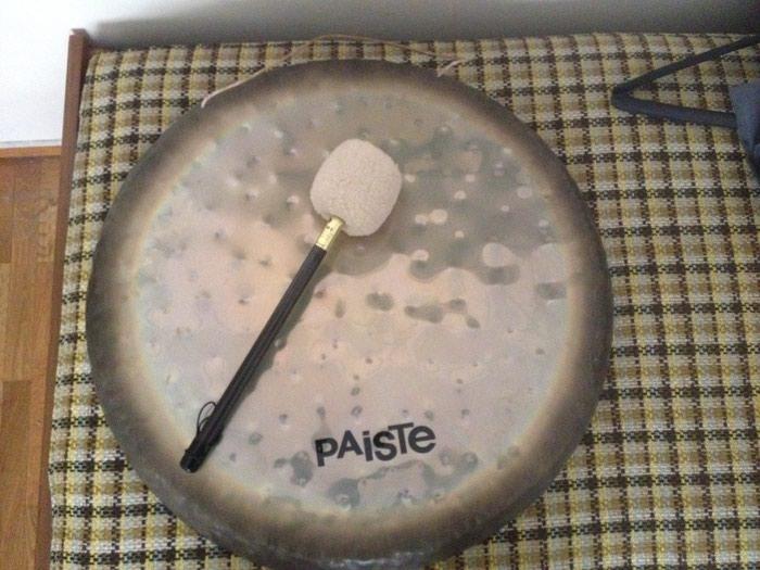 Gong - PAISTE. Σε εξαιρετική κατάσταση. Αγορασμένο στις ΗΠΑ. σε Κεντρική Θεσσαλονίκη