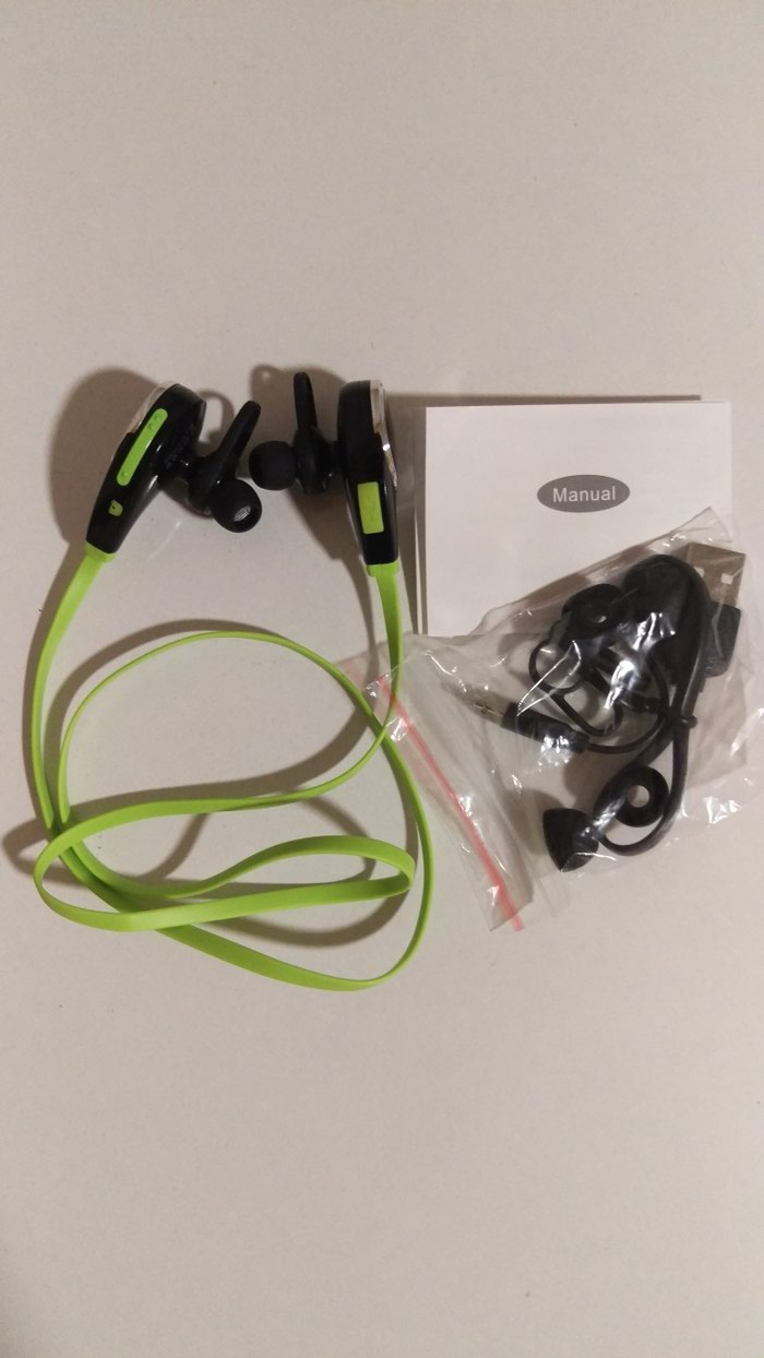 Bezicne slušalice. Novo. Photo 0