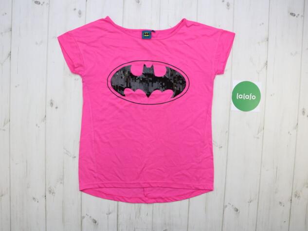 Подросткова футболка Batman, рост 158 см    Длина: 59 см Пог: 42 см  С: Подросткова футболка Batman, рост 158 см    Длина: 59 см Пог: 42 см  С