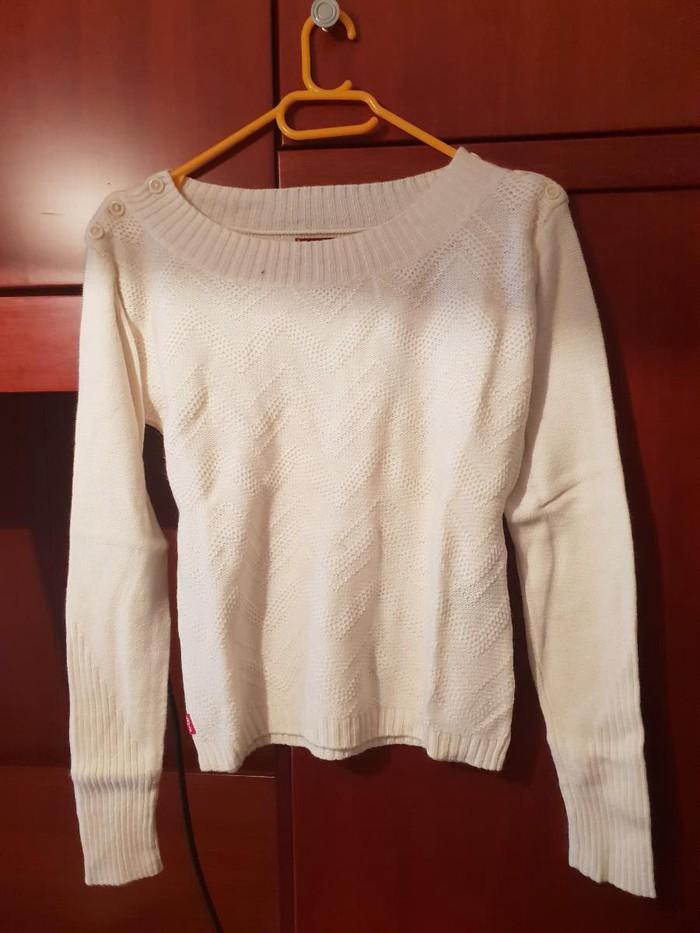 Γυναικεία μάλλινη καινούργια μπλούζα, μάρκας Levis. Photo 0