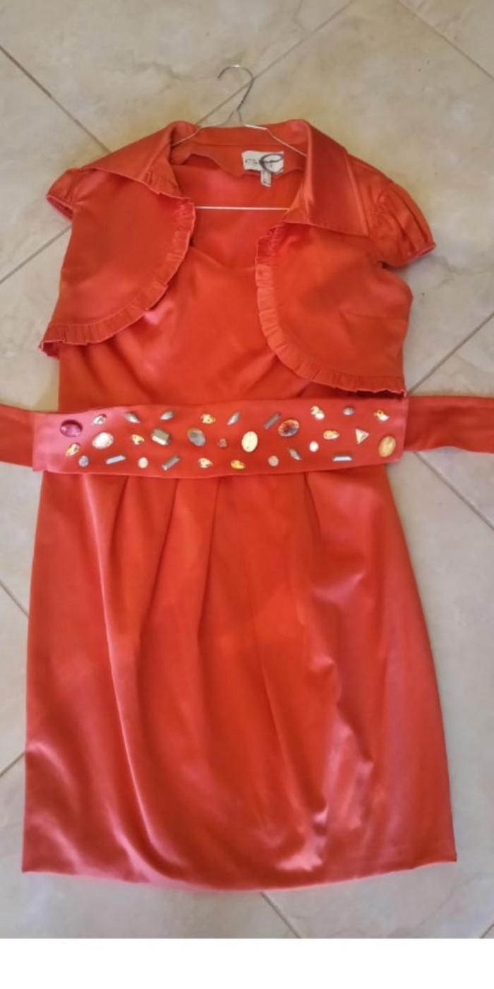 Estel κοραλί φορεμα no 44