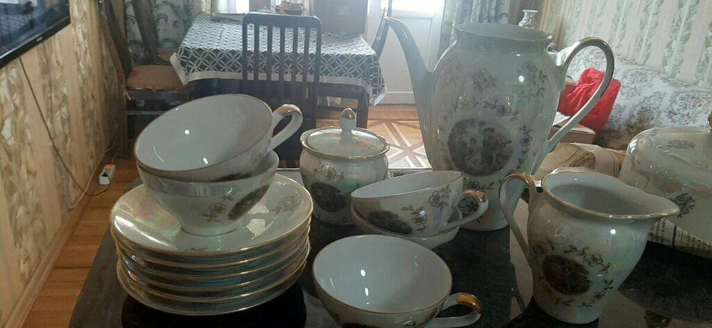 Кофейный сервиз 6 персон 30 ман нет одной чашки: Кофейный сервиз 6 персон 30 ман нет одной чашки