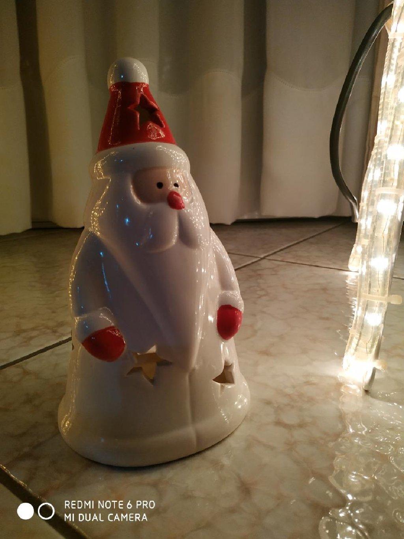 Πήλινος Χριστουγεννιάτικος άγιος Βασίλης ! Μεταφορές σε όλη την Ελλάδα με ΕΛΤΑ