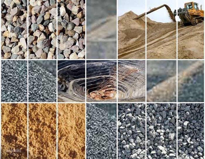 Отсев щебень гравий камни чернозем перегной глина зил доставка . Photo 0