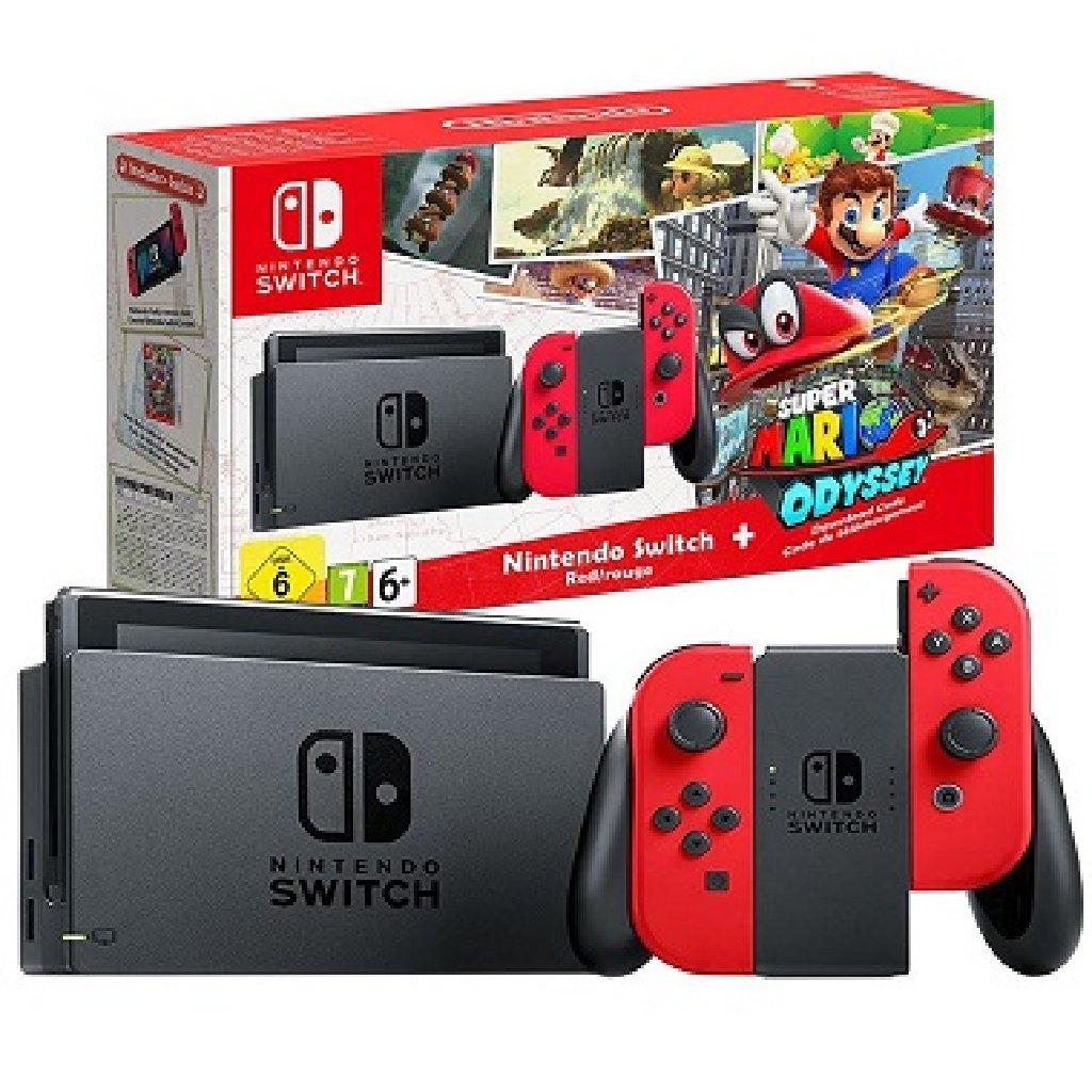 Nintendo Switch 32GB Gray Console Bundle Zelda Mario Kart