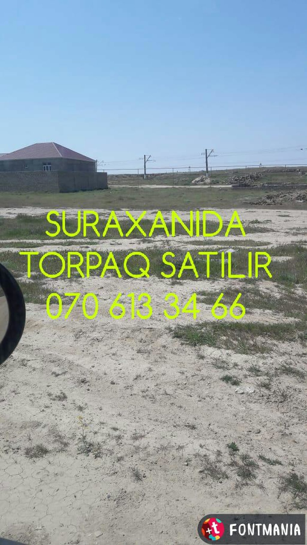 Torpaq sahələrinin satışı 2 sot Tikinti, Makler: Torpaq sahələrinin satışı 2 sot Tikinti, Makler