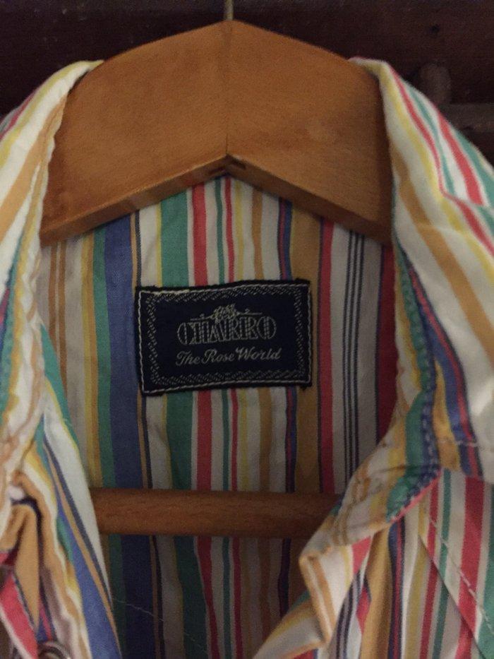 Αμάνικο ριγέ πουλάμισο Charro No Small . Εξαιρετική κατάσταση , φορεμέ. Photo 2