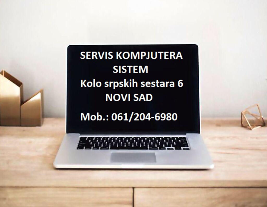 Instalacija operativnih sistema Windows Novi Sad