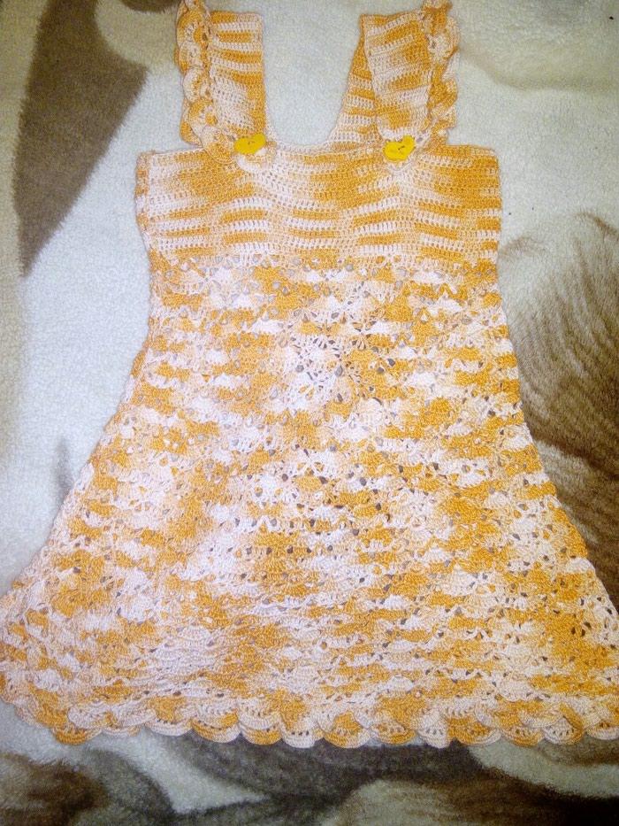 fe35c28bdceaf2f летним сарафан-платье вязка,ручнои, цена: 500 KGS в категории ...