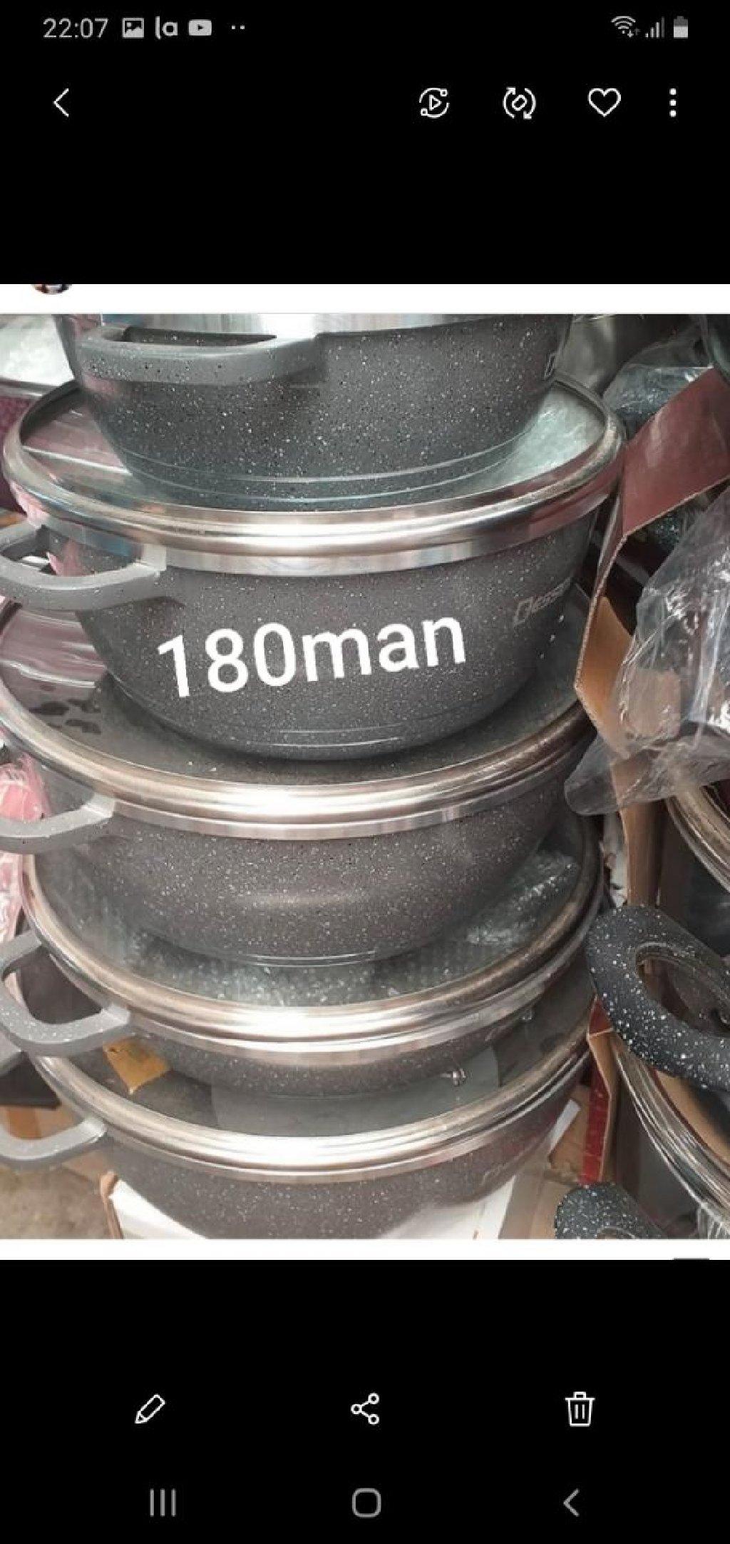 Otalya istehsalı qranit qazanlar. Photo 0