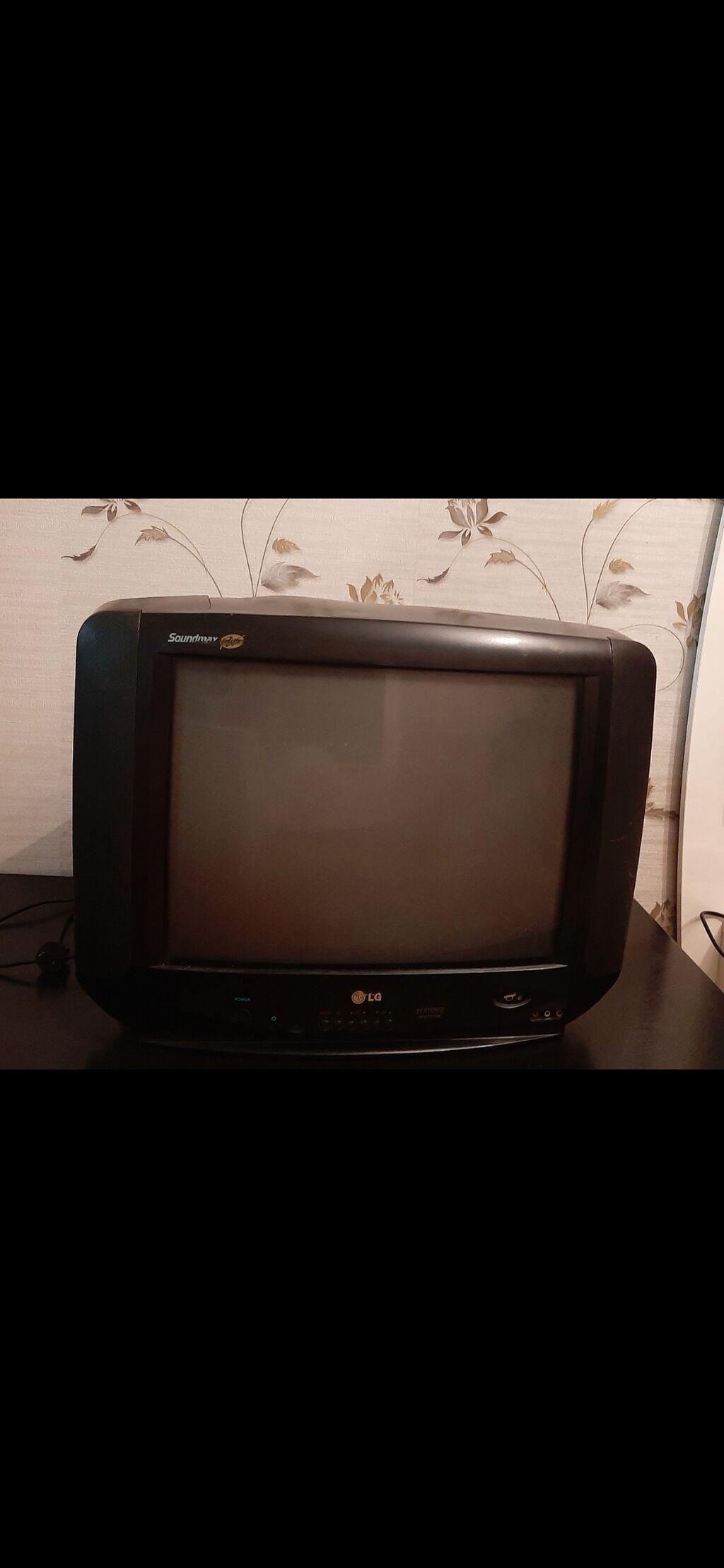 LG televizor İşlək vəziyyətdədir. Heç bir problemi yoxdur: LG televizor İşlək vəziyyətdədir. Heç bir problemi yoxdur