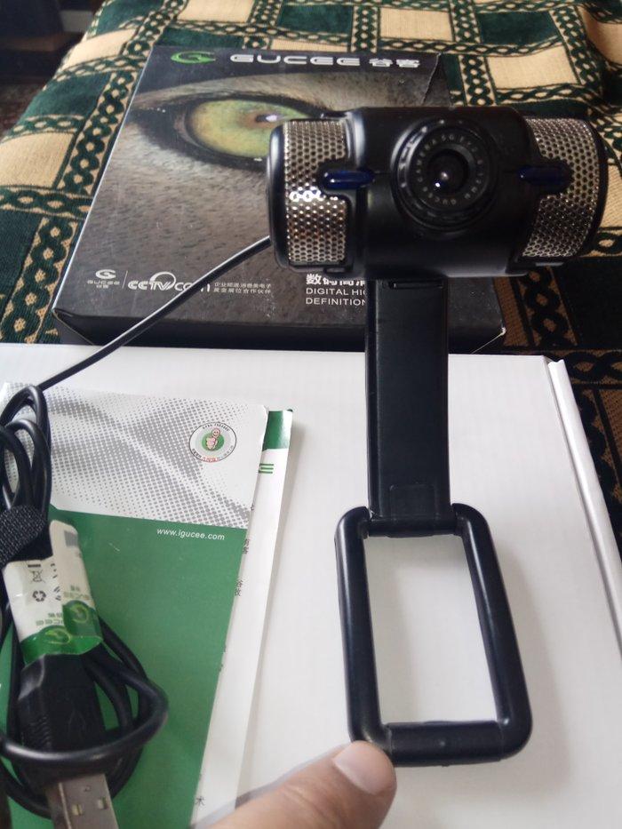 Продаю веб-камеру марки gucee 8019. почти новая, с коробкой. в Бишкек