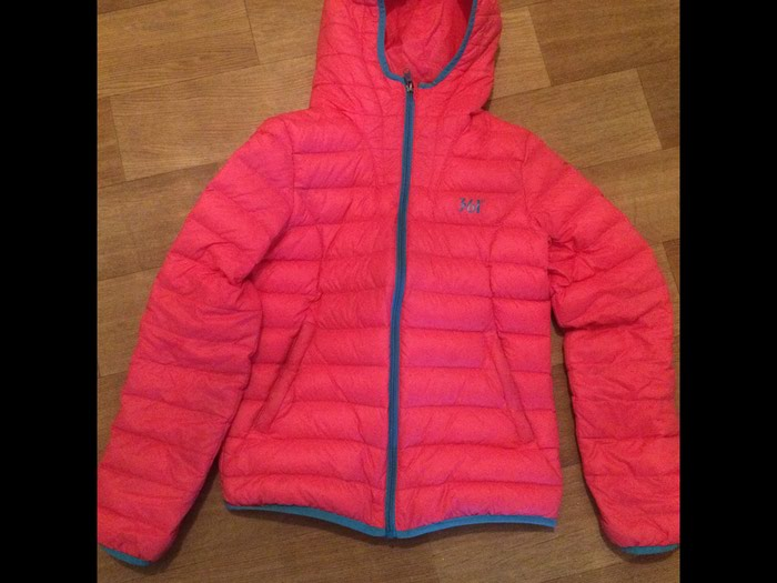 Тонкая тёплая легкая оригинал 361• + сумка для куртка. Размер l. Photo 0