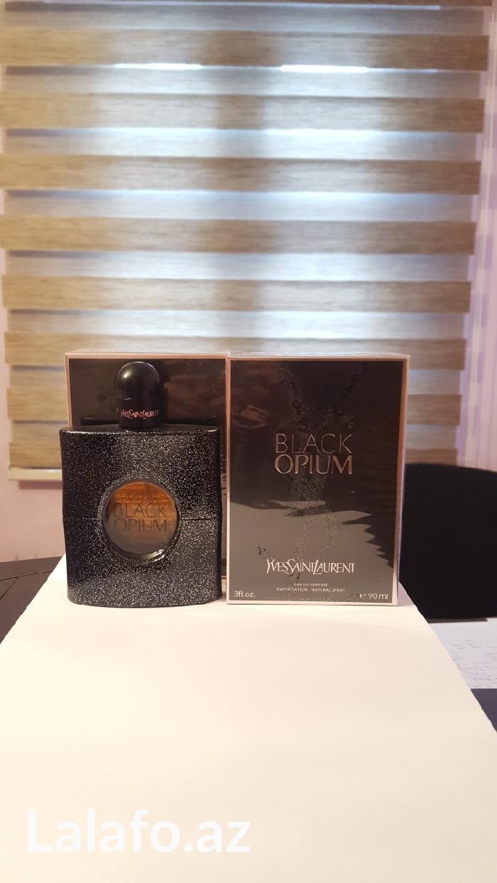 Sumqayıt şəhərində Black opium 100ml qadın ətri  dubay istehsalı