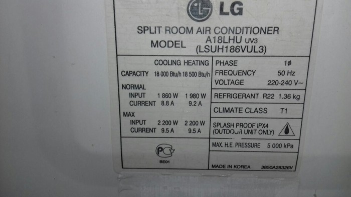 LG kondisoneri işlekdi 80 kvm. Photo 2