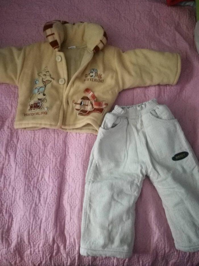 Jakna i termo pantalone vel.80 ocuvano noseno jako malo kao novo.. Photo 0