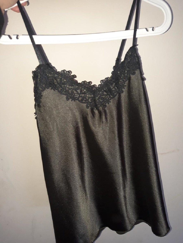 Σατέν μπλουζα (lingerie style)