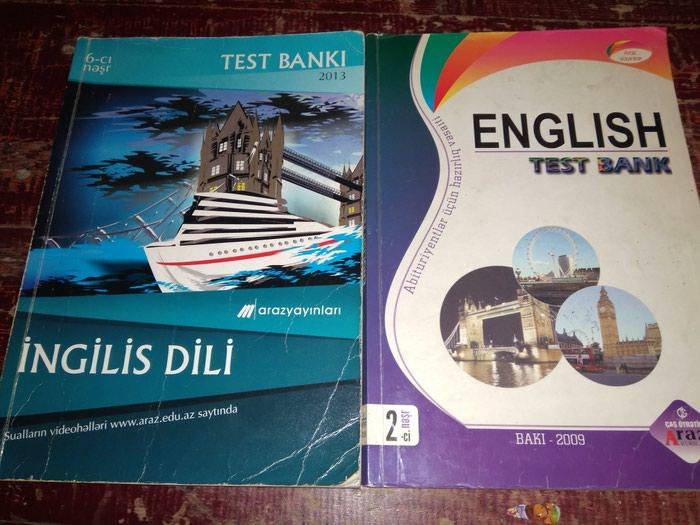 English Test Bank Araz yayinlari 2009 2013. Photo 0