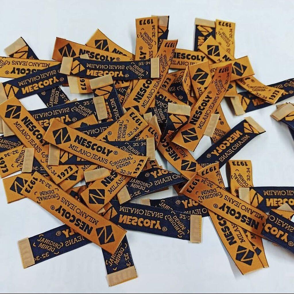 Печать - Бишкек: Этикетки от 250гр до 1000гр картонжаккард лейбы, пломбы с