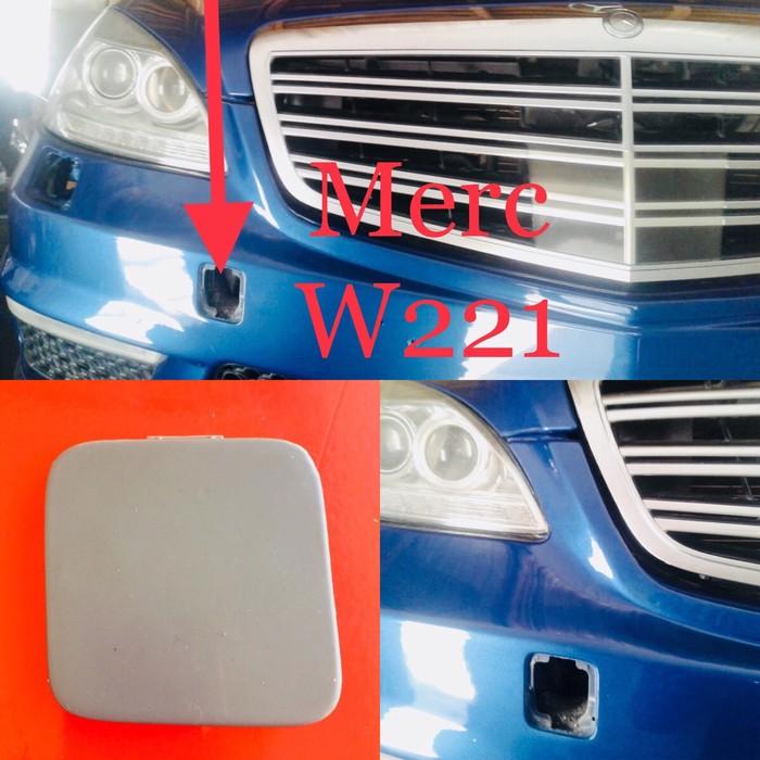 Буксировочная заглушка от Мерседес S class W221.. Photo 0