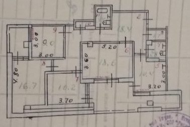 4-комн. квартира, 5 этаж, 120 м², 61 мкр. Photo 1