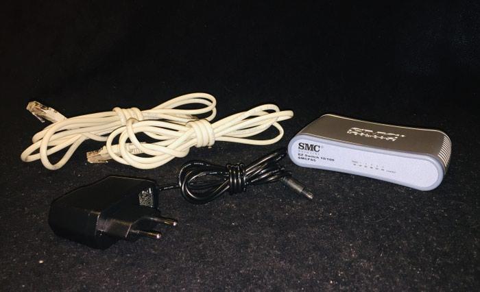SMC FS-5 EZ Switch 10/100