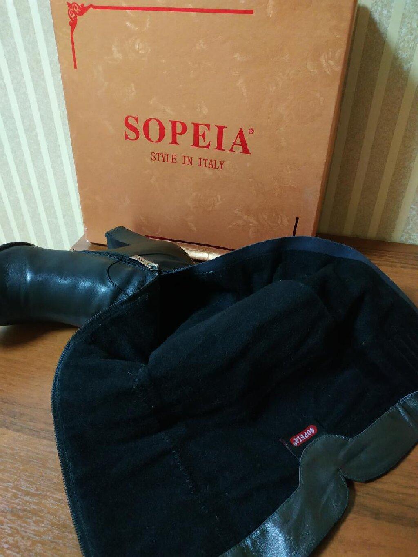 Продаю сапоги фирмы Sopeia из натуральной кожи деми 39-40 р-ра в прекрасном состоянии