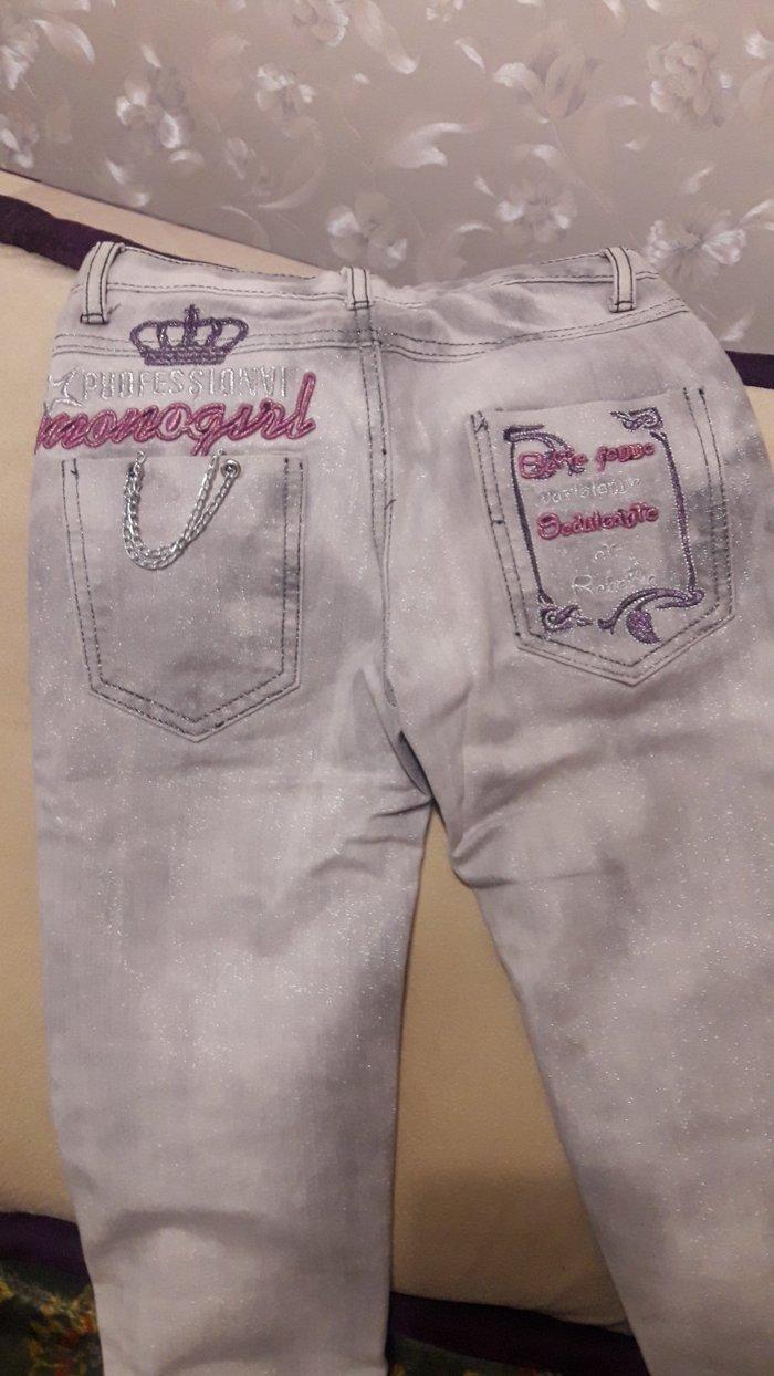 Продаю новые джинсы на девочку 9-10 лет в Бишкек