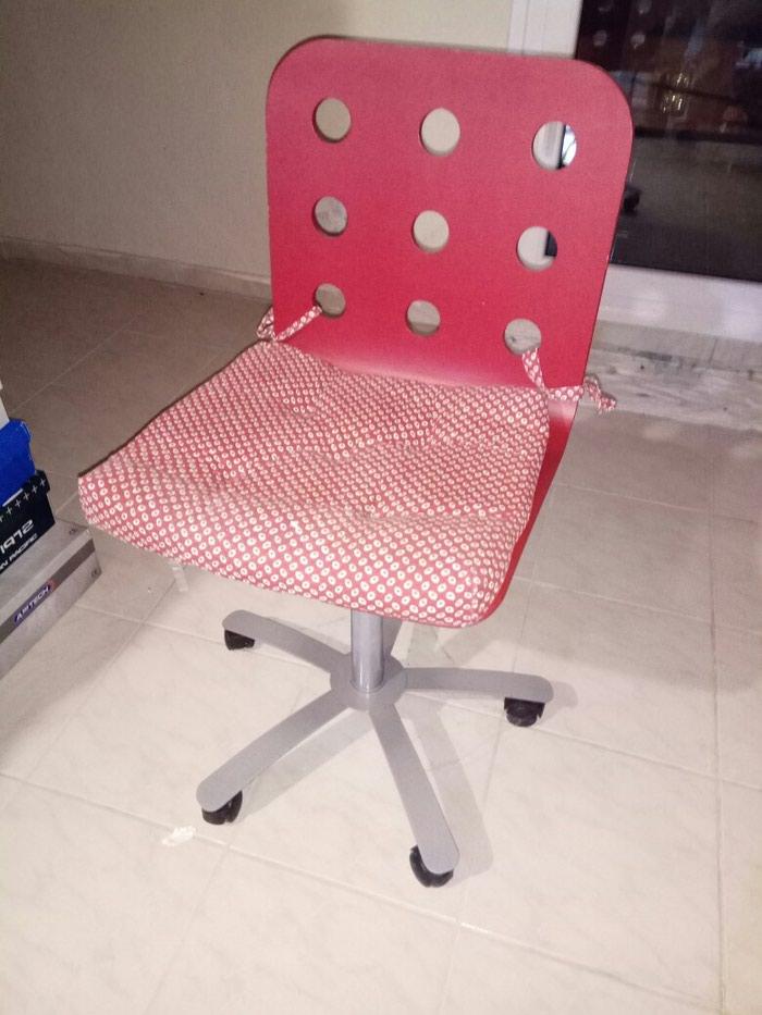 Καρέκλα γραφείου Κόκκινη. Photo 0