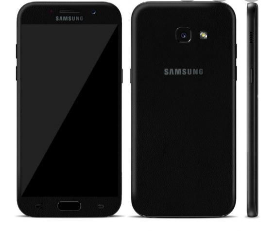 Yeni Samsung Galaxy A5 2017 32 GB qara. Photo 0