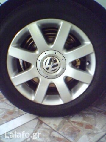 """Ζαντολαστιχα16"""" απο vw golf sportline edition σε καλη κατασταση!λάστιχα Bridgestone Tyranza 205/55 R16!"""