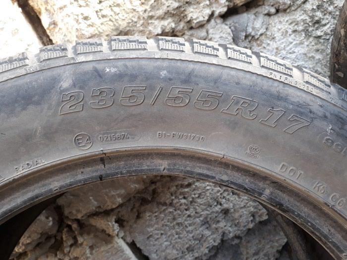 Dunlop 235 55 17.tekeri satilir. ikisi 60 manat.. Photo 4