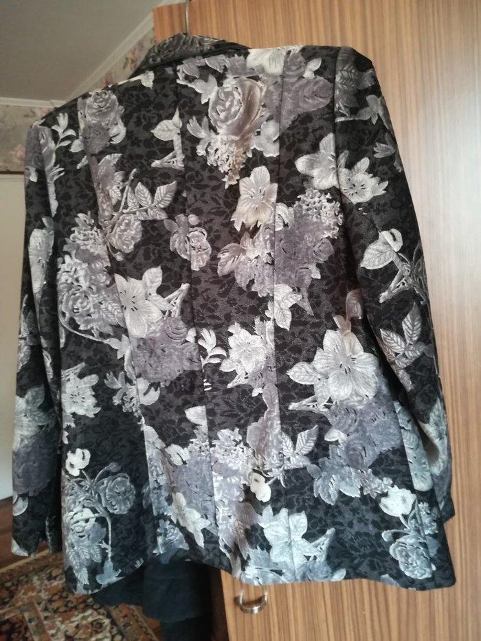 Пиджак велюровый размер 50 52 новый. Photo 1