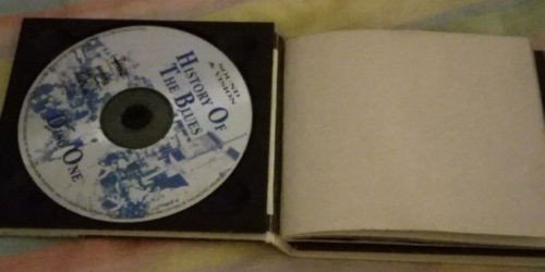 History of the blues double CD. Rare box set from ~1995.. Photo 0