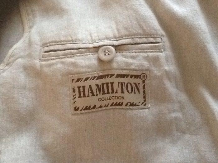 Пиджак лен фирма куплен в москве одет пару раз как новый размер 50-52. Photo 2