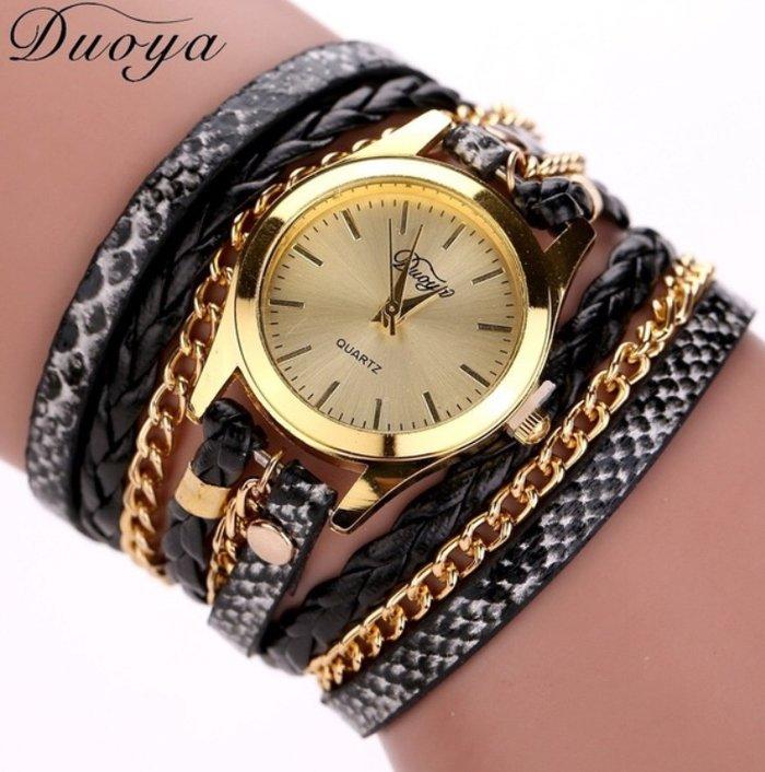 Ženski satovi narukvice Boje kao sa slike: crna, plava, braon, zlatna, - Nis