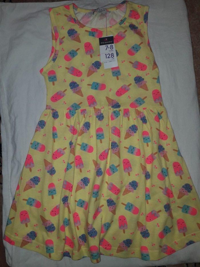 Primark haljinica za devojcicu, vel 128, 7-8 god. Nova, sa etiketom.. Photo 0