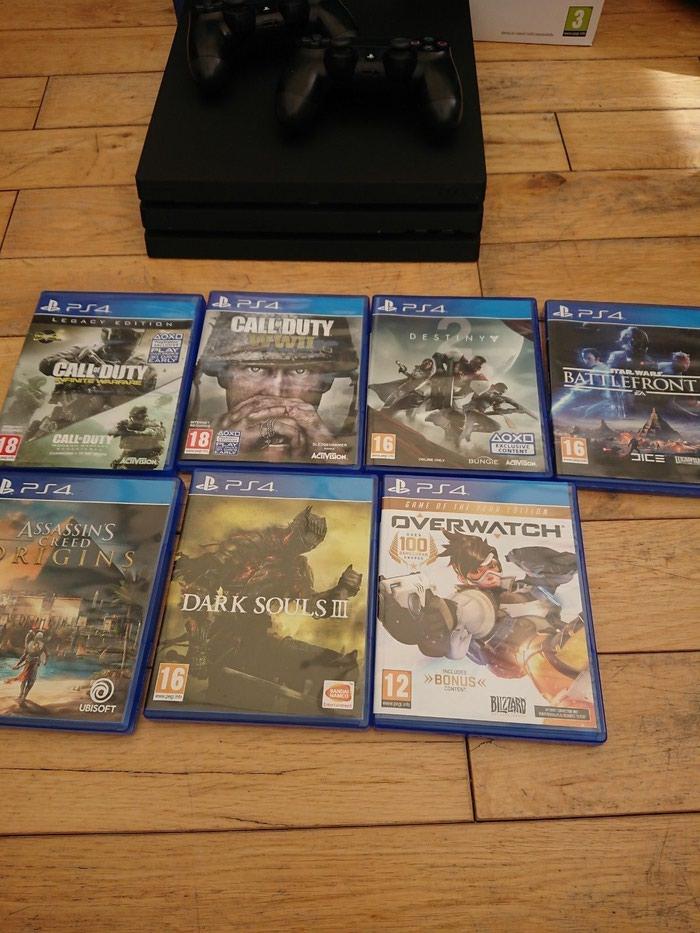 Νέο Sony PlayStation 4 Pro 1TB με 2 ελεγκτές και 7 δωρεάν παιχνίδια. Photo 2