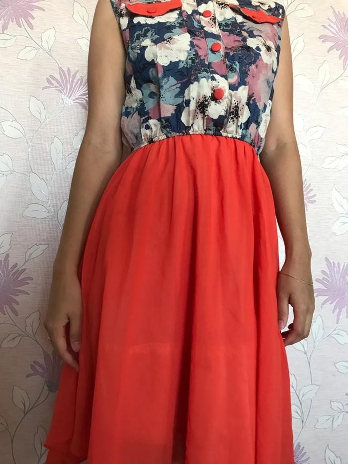 Летнее платье Размер 42-44. Photo 1