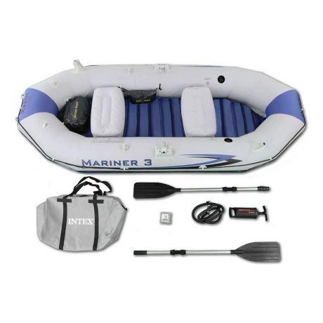 Лодка, Надувная лодка mariner iii intex 68373 купить в бишкеке