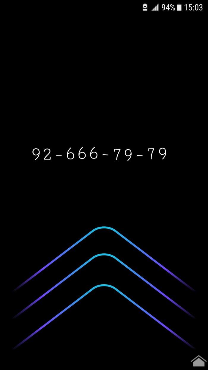 Симка с номером 92 666 - 79-79 в Худжанд