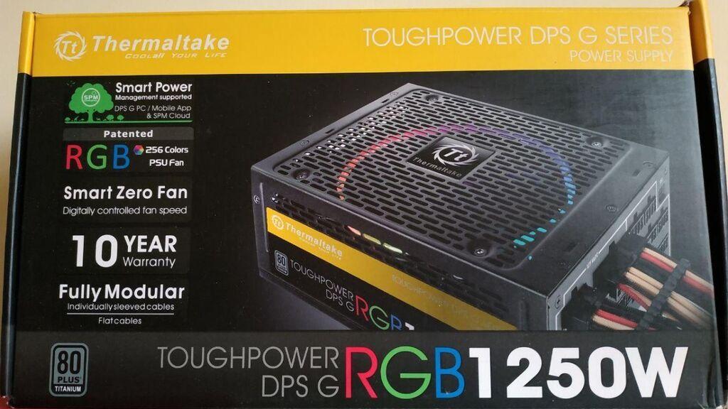 Thermaltake Toughpower iRGB Plus 1250W 80 PLUS TITANIUM