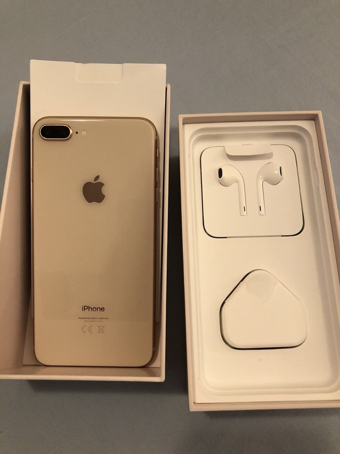 Apple iPhone 8 Plus - 256GB - Gold (Unlocked) A1897 (GSM) . Photo 0