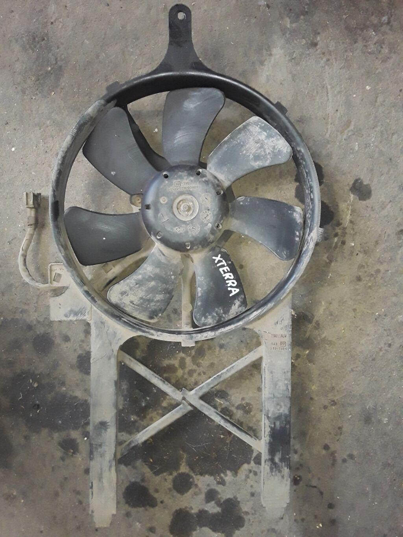 Nissan XTerra VQ40 вентилятор охлаждения, Ниссан ХТерра вентилятор: Nissan XTerra VQ40  вентилятор охлаждения, Ниссан ХТерра вентилятор