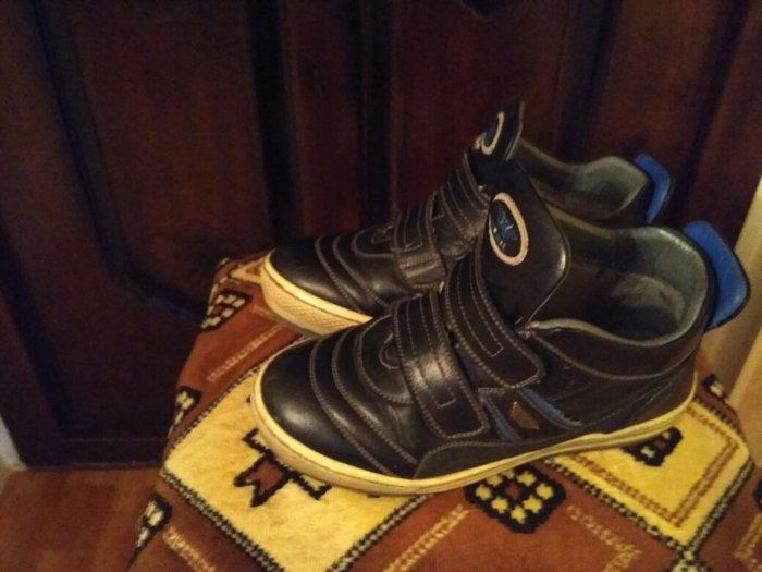 Прадаю ботинки! Дэмисезонные кожанные модные, 33 размер на мальчика. П в Бишкек