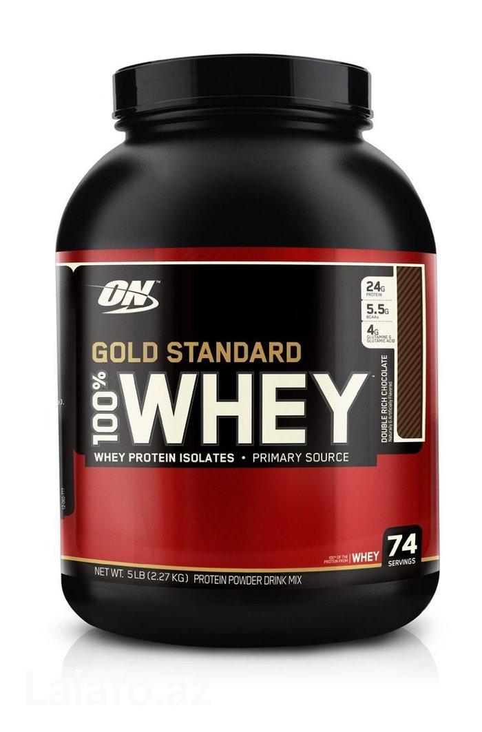 Bakı şəhərində ON whey gold standart 2kg 300