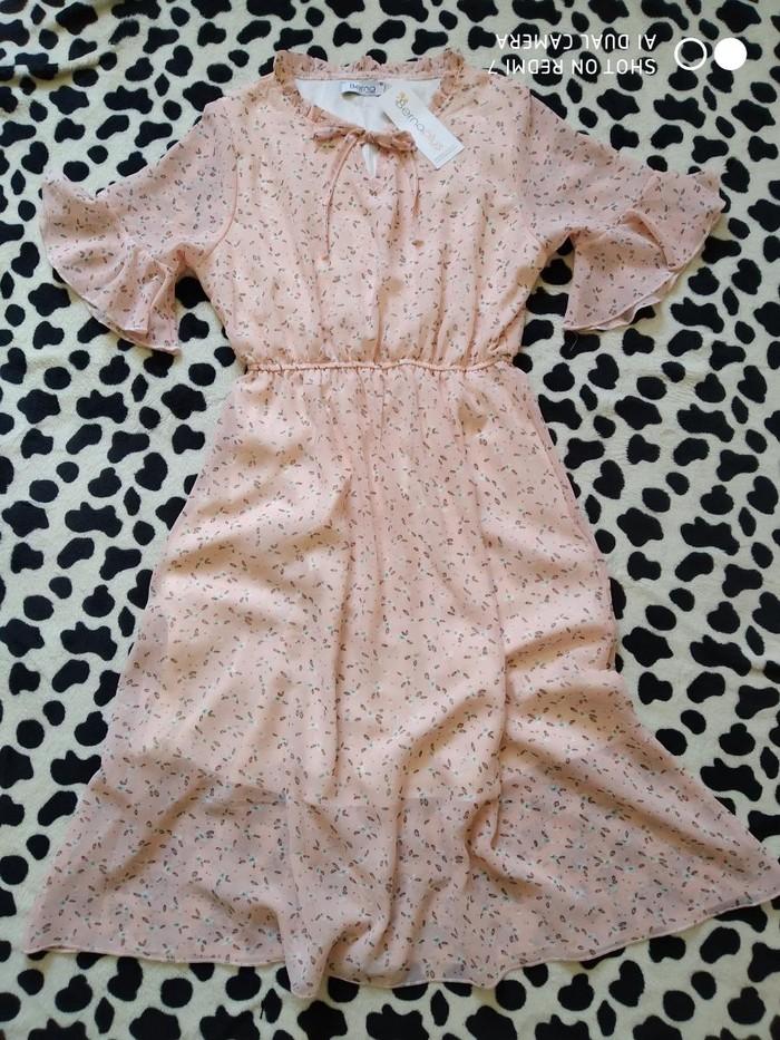 Новое шифоновое платье, 42 размер.. Photo 1