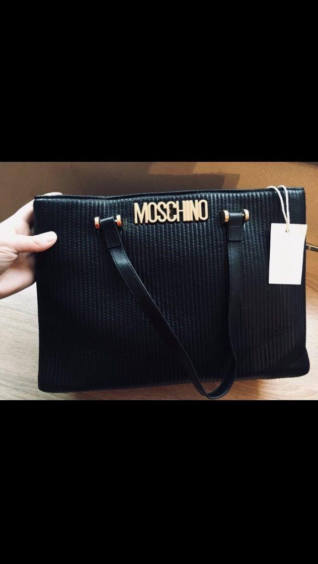 4892675f2141 Новая сумка.. moschino.. есть еще длинный ремешок.. за 800 KGS в ...